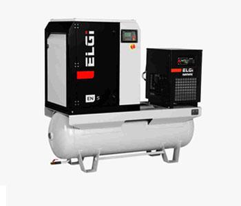 ELGi EN series Electric Lubricated Screw Compressors