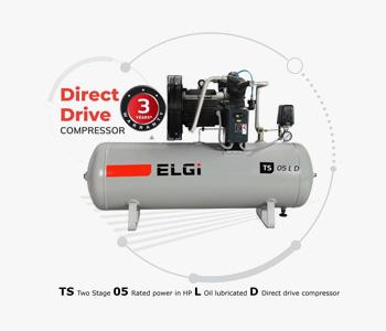 ELGi Direct Drive Air Compressors Dealer