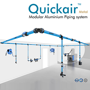 Modular Aluminium Piping System for Compressed Air - Industrial Air Solutions LLP